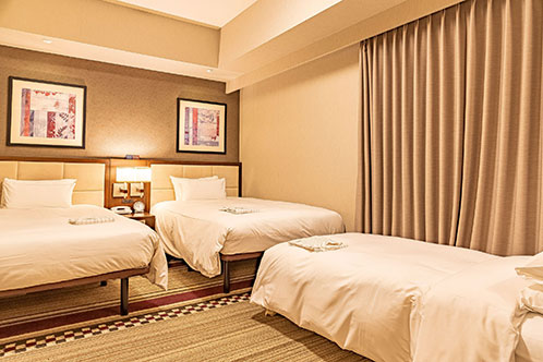 Sunroute Plaza Shinjuku – Twin with Sofa bed Room